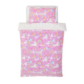 Argos Home Unicorn Bedding Set - Toddler