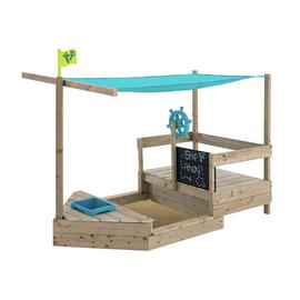TP Ahoy Wooden Play Boat and Sand Pit