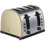 more details on Russell Hobbs 21302 Legacy 4 Slice Toaster - Cream.