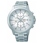 more details on Seiko Men's Silver Dial Chrono Bracelet Watch.