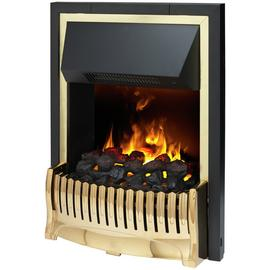 Dimplex Bellemont 2kW Electric Inset Fire - Brass