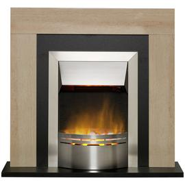 Dimplex Marbello Electric Fire Suite - Marble Effect