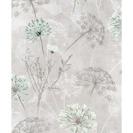 Sublime Hadley Floral Taupe Wallpaper
