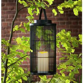 Argos Home Skandi Black Solar Outdoor Lantern