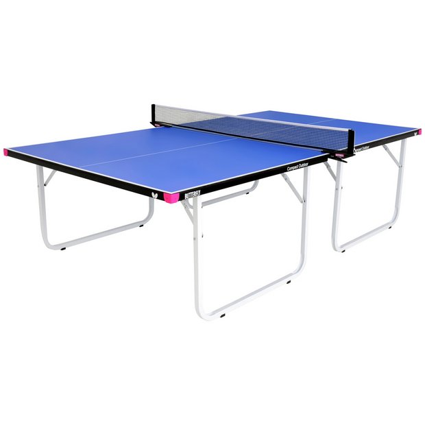 buy butterfly compact outdoor table tennis table at argos. Black Bedroom Furniture Sets. Home Design Ideas
