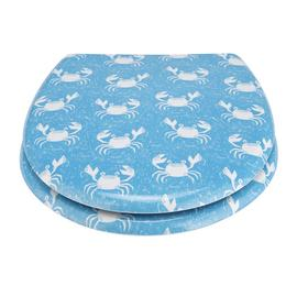 Argos Home Happy Crab Slow Close Toilet Seat