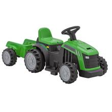 Chad Valley Tractor with Trailer 6V Powered Ride On