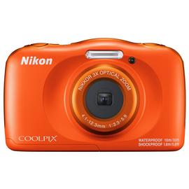 Nikon Coolpix W150 13.2MP 3 x Zoom Camera - Orange