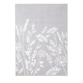 Argos Home Country Floral Rug - 170x120cm - Grey