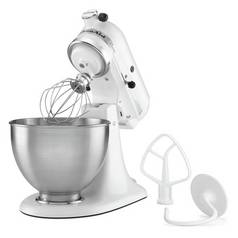 KitchenAid 5K45SSBWH Classic Stand Mixer - White