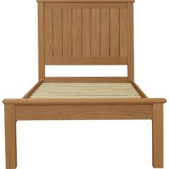 Argos Home Grafton Single Bed Frame - Oak Stain
