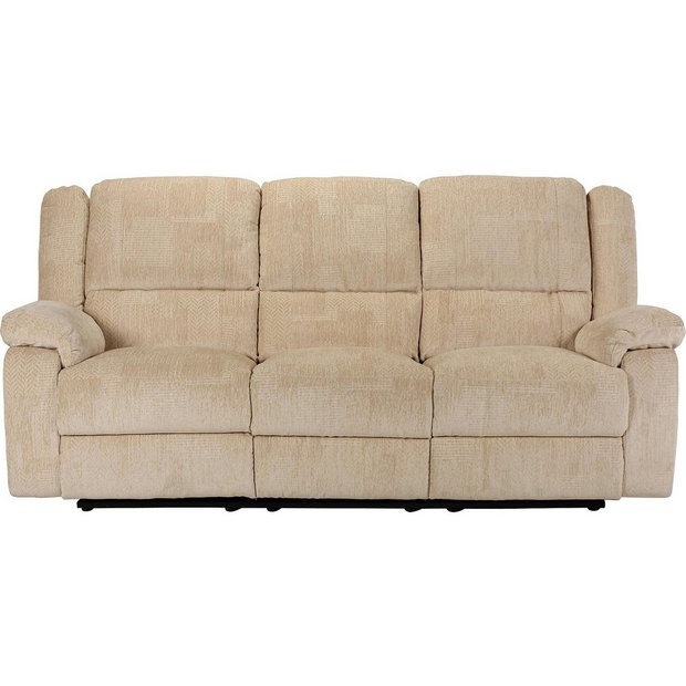 Buy Collection Shelly 3 Seater Manual Recliner Sofa
