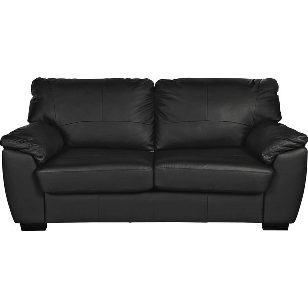 Milano Leather Recliner Sofa: Buy Collection Milano 3 Seater Leather Sofa