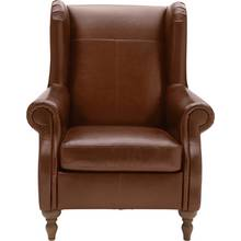 Buy Heart Of House Salisbury Leather Chair Black At