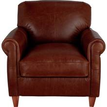 Heart of House Kingsley Leather Club Chair - Tan