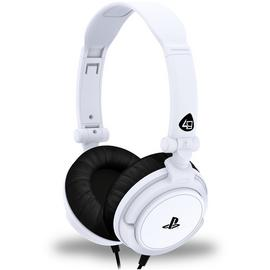 4Gamers PRO4-10 PS4, PS Vita Headset - White