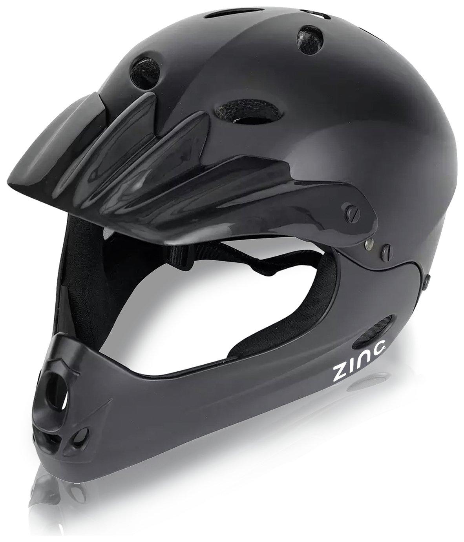 Zinc Full Face Bike Helmet Unisex