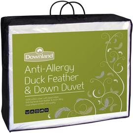Downland Duck Feather & Down Anti-Allergy 15 Tog Duvet