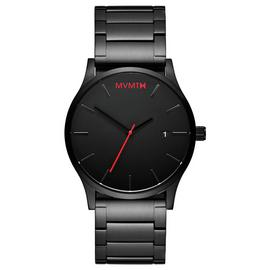 MVMT Men's Black Stainless Steel Bracelet Watch