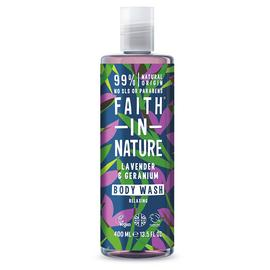 Faith in Nature Lavender Geranium Body Wash - 400ml
