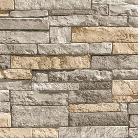 Superfresco Easy Ledgestone Grey Terracotta Wallpaper