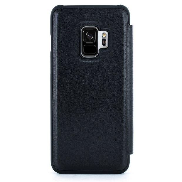 pretty nice 8a725 a7874 Buy Proporta Samsung Galaxy S9 Leather Phone Case - Black | Mobile phone  cases | Argos