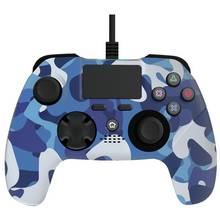 Blue Camo Controller for PS4 - Blue