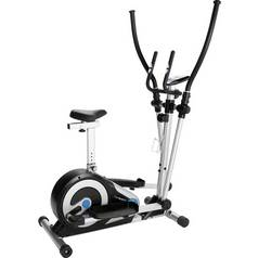 Roger Black 2 in 1 Manual Exercise Bike and Cross Trainer