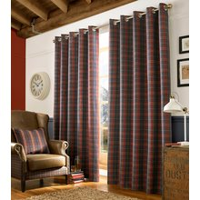 Ashley Wilde Archie Denim Curtains - 117cmx137cm