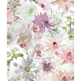 Fresco Clara Floral - Multicoloured Wallpaper