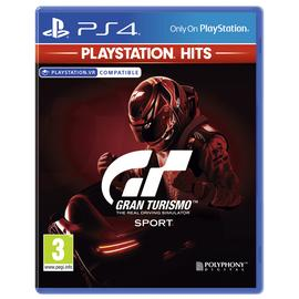 Gran Turismo Sport PS4 Hits Game