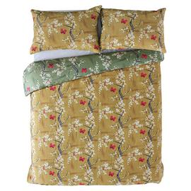 Angel Strawbridge Ochre Blossom Bedding Set - Double
