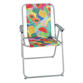 Argos Home Metal Folding Picnic Chair - Ipanema Fruit