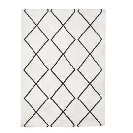 Argos Home Berber Supersoft Rug - 120x170cm - White