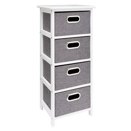 Argos Home 4 Drawer Bathroom Storage Unit - Grey