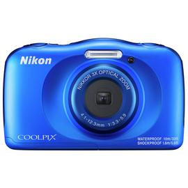 Nikon Coolpix W150 13.2MP 3 x Zoom Camera - Blue