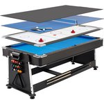more details on Mightymast Leisure 7ft Revolver 3 in 1 Games Table.