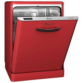 Swan SDW7040RN Retro Dishwasher - Red Best Price, Cheapest Prices