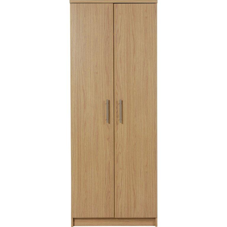 Buy Home Normandy 2 Door Wardrobe Oak Effect At Argos Co