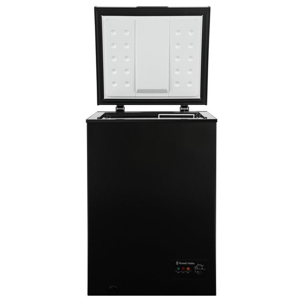 buy russell hobbs rhcf99b chest freezer black at argos. Black Bedroom Furniture Sets. Home Design Ideas