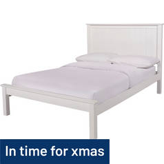 Argos Home Grafton Single Bed Frame - White