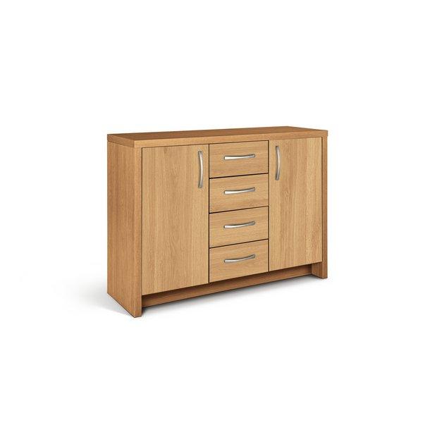 Buy Collection Venice 2 Door 4 Drawer Sideboard Oak
