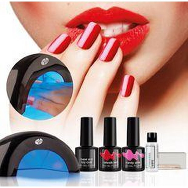 Buy Rio Fabulous Nails LED Lamp & Gel Nail Polish Kit At