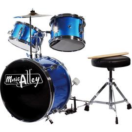 Music Alley Junior 3 Piece Drum Kit