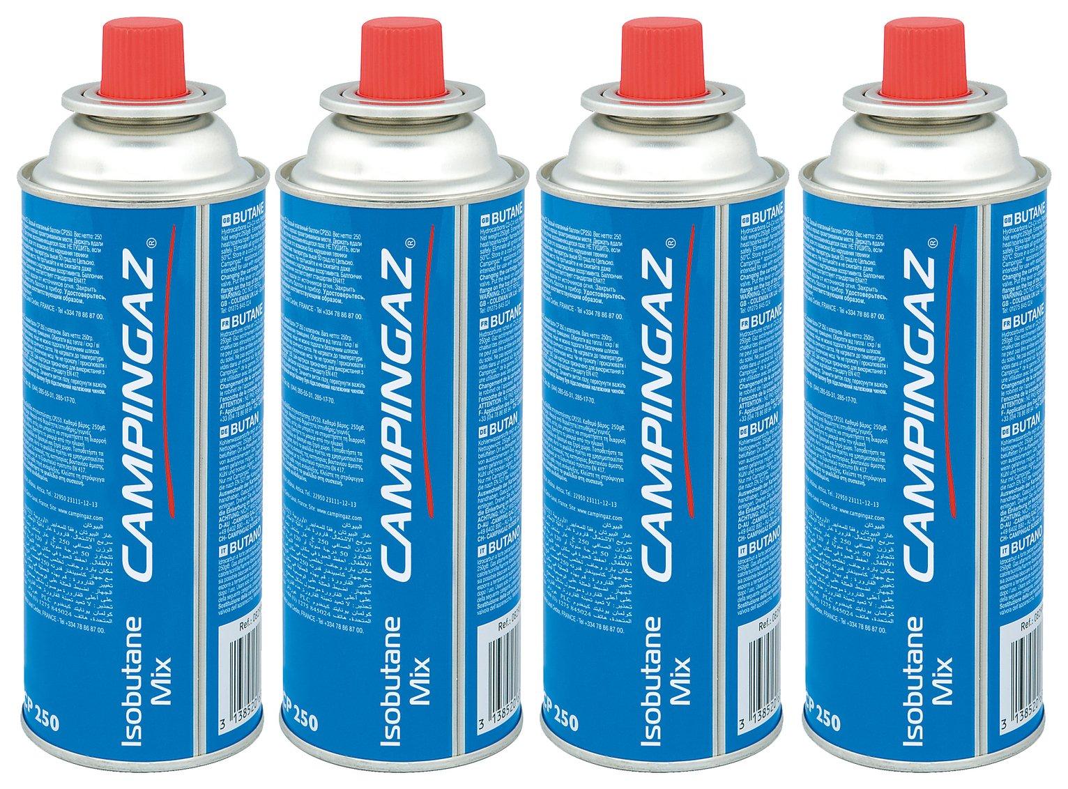 250g by Campingaz 8 X Campingaz CP250 Resealable Bistro Gas Cartridge