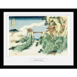 Japanese Art Hokusai the Hanging Cloud Framed Print