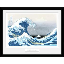 Japanese Art Hokusai Great Wave Framed Print