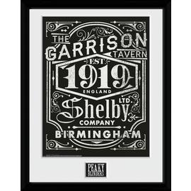 Peaky Blinders Label Framed Print