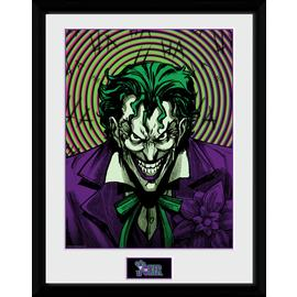 DC Comics Joker Insane Framed Print