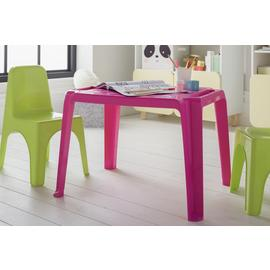 Argos Home Plastic Pink Table